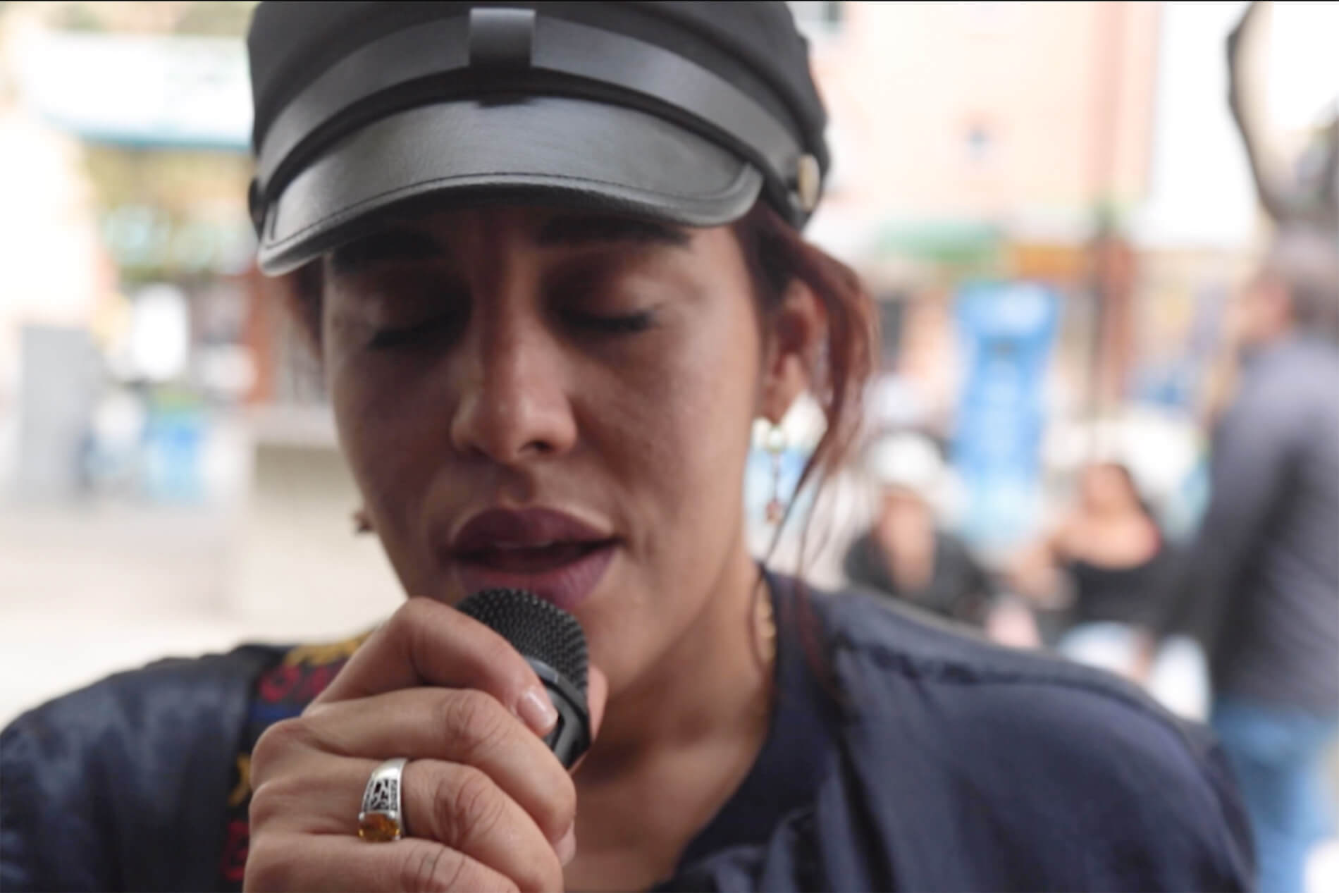 Andrea Garcia Play a hopeful voice | uprooted: the faces of the venezuelan crisis